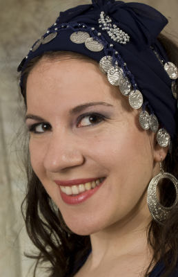 Enisa Imamovic, bellydance instructor, author of book Art of Oriental Dance